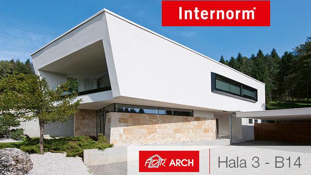 Internorm na výstavě For Arch